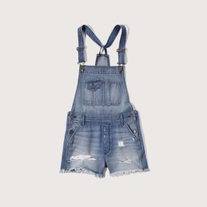 Abercrombie and Fitch Denim Shortalls